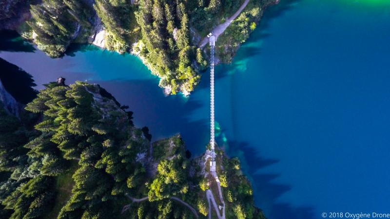 Lac du barrage de Saint Guerin