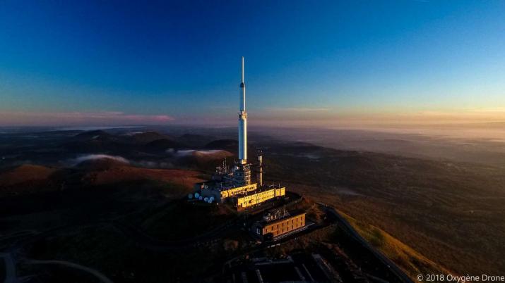 L'antenne Du Puy de dôme