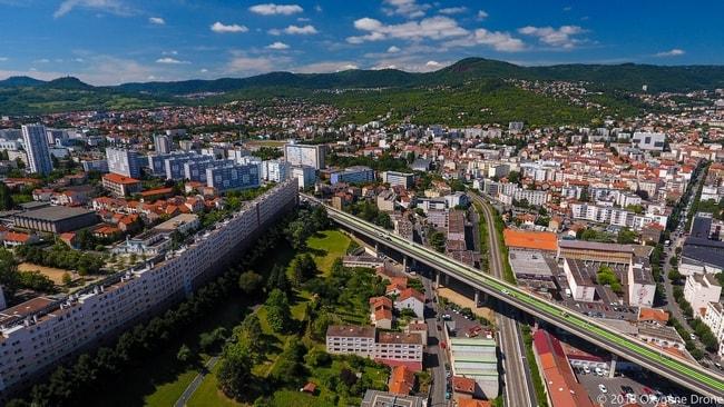 Muraille de chine de Clermont Ferrand