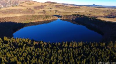 Les lacs du massif du Sancy en Auvergne