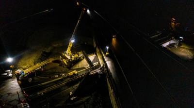 TOARC SUD Autoroute A75 :  travaux d'élargissement de nuit