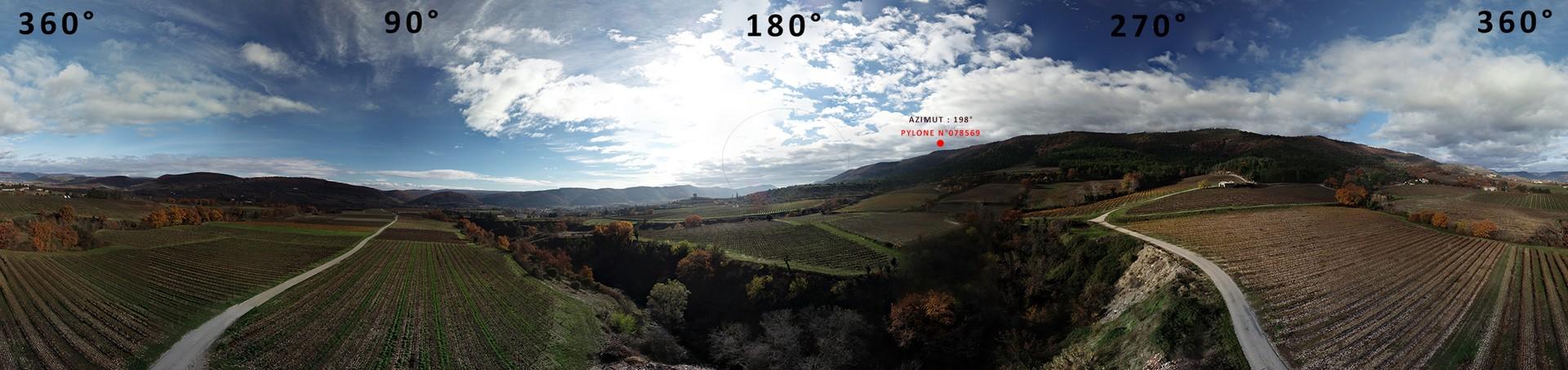 Visée FH par drone