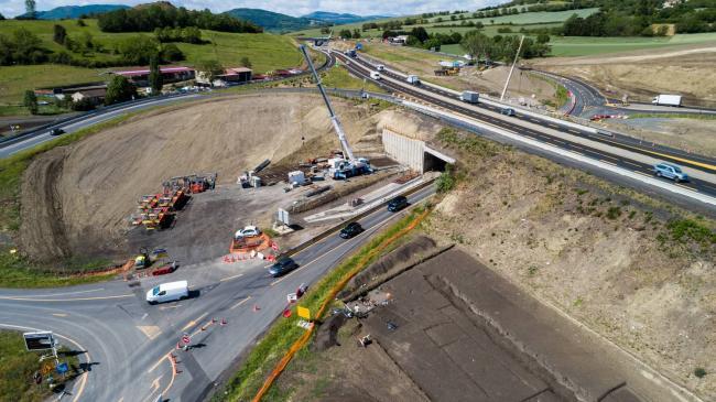 Chantier NGE : TOARC Sud A75  - Vidéo de communication autoroute A75