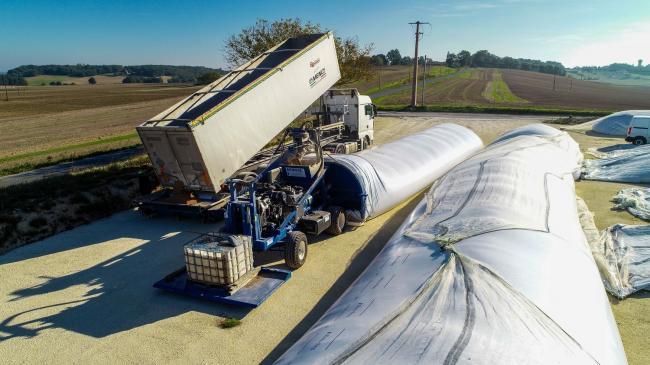 Ensilage Tubulaire - Vidéo corporate agricole
