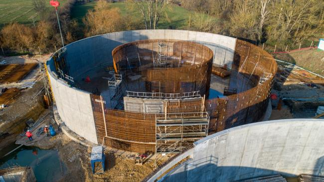 Bourges : STEP de Bourges - Contruction de la nouvelle STEP de Bourges par NGE