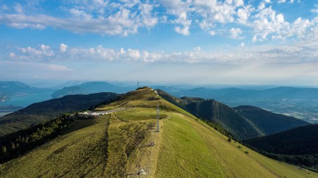 Chambéry : Col du Grand Colombier - Images pour France TV