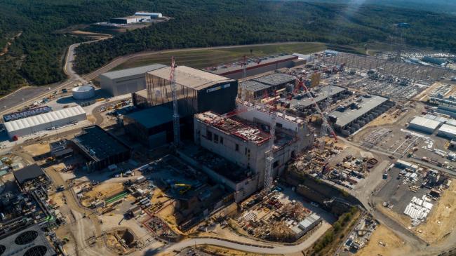 Chantier ITER - Prises de vues aériennes par drone