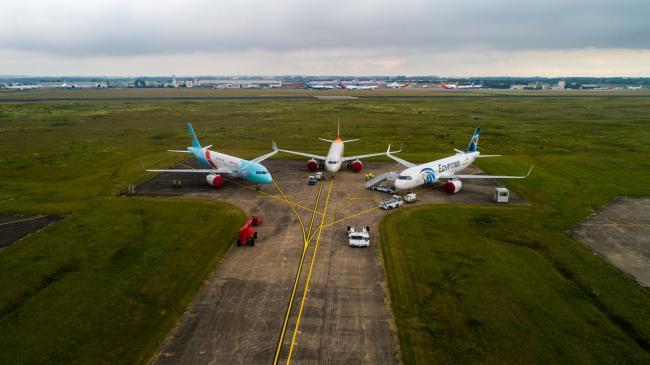 Chateauroux : Aéroport Marcel Dassault - Prises de vues pour France 2