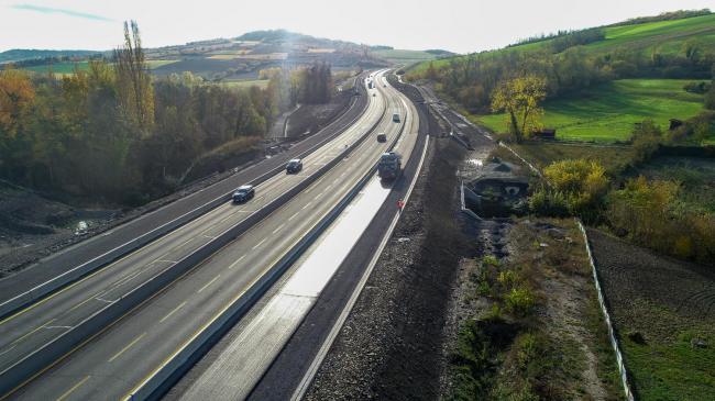 Clermont-Ferrand : TOARC Sud A75 - Suivi de Chantier / Vidéo de Communication