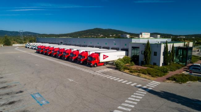 Plateforme logistique : Transports G7 - Communication corporate