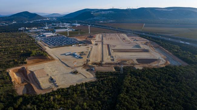 Donzère : Suivi de Chantier Intermarché - Suivi de chantier du nouveau centre logistique d'intermarché