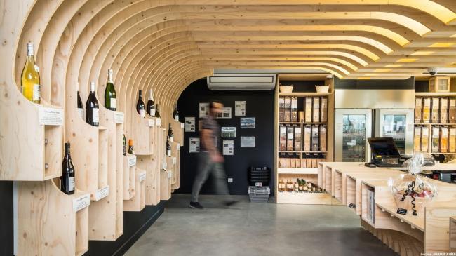 Lyon : Épicerie biologique de Miribel