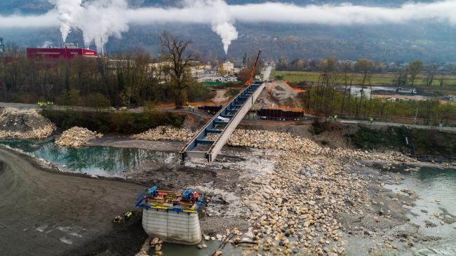 Grenoble : Pont de la Buissière - Suivi de Chantier / Vidéo de Communication à grenoble