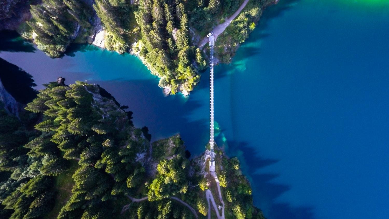 Barrage de Saint Guérin - Un lac à découvrir