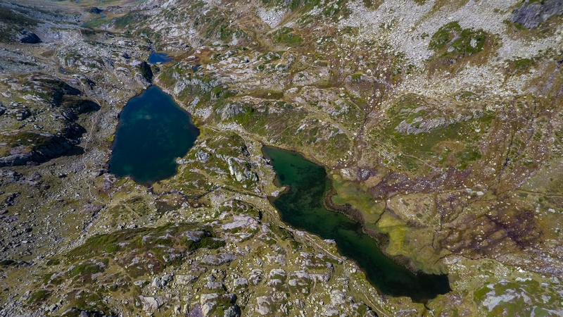 Les lacs de la Tempête - Entre Eaux et Roches à 2031m d'altitude