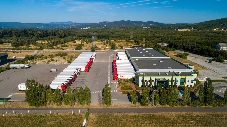 Plateforme logistique : Réseau G7 - Communication corporate