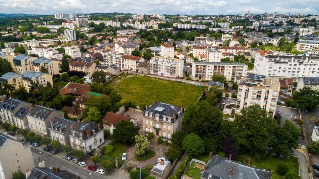 Limoges : Projet immobilier - Réalisation d'images perspective immobillier