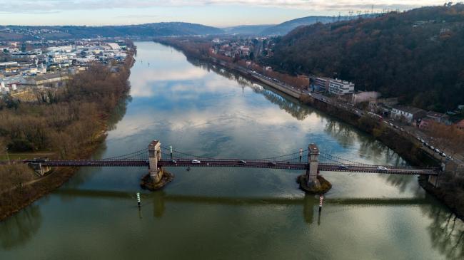 Lyon : Pont de Chasse