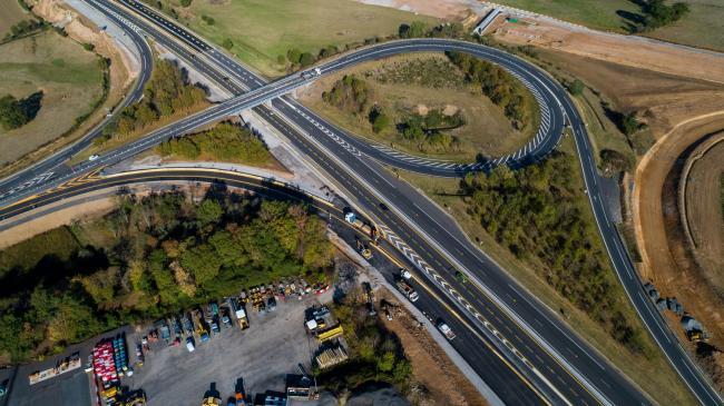 Moulins : Bretelle de l'A71 - Opération coup de poing par NGE