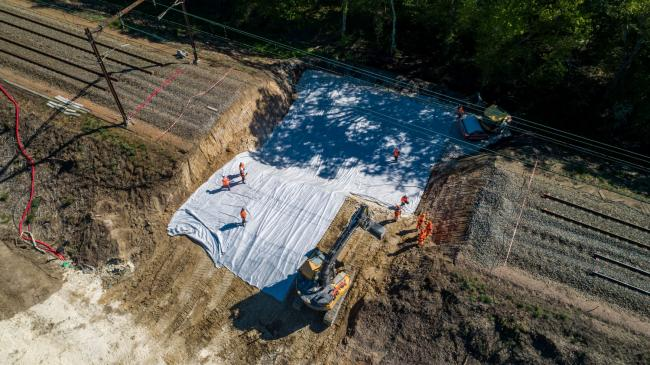 Orléans : Chantier POLT - Suivi de chantier d'urgence