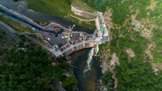 Puy en Velay : Barrage de Poutes