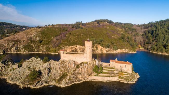 Saint-Étienne : Château de Grangent - Château de Grangent sur le territoire de Saint-Étienne