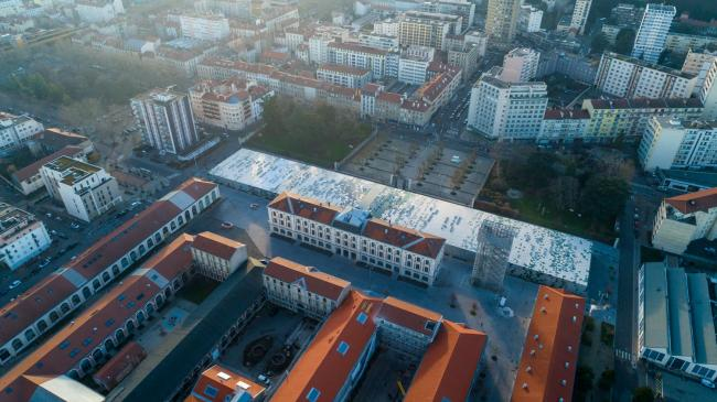 Saint-Étienne : Cité du Design - Images aériennes drone de la cité du design
