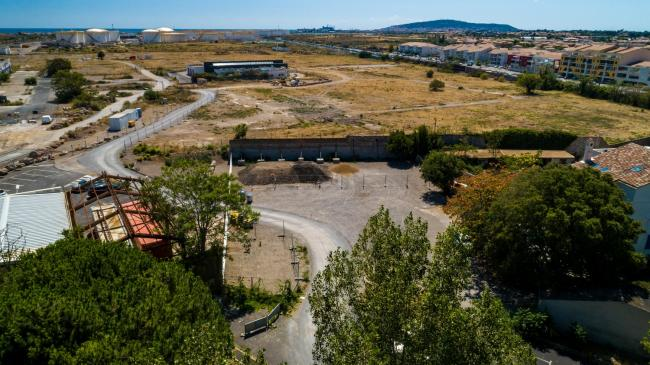 Sète : Antéa Group - Prise de vues aériennes à Sete