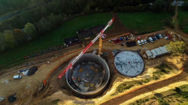 Station D'épuration de Saint-Flour - Suivi de chantier par drone