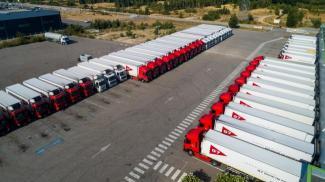 Plateforme logistique : Transports G7