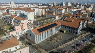 Villeurbanne : Images urbaines par drone