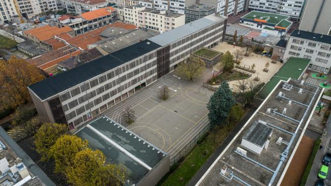 Villeurbanne : Images urbaines par drone - Réalisation d'images par drone à Villeurbanne