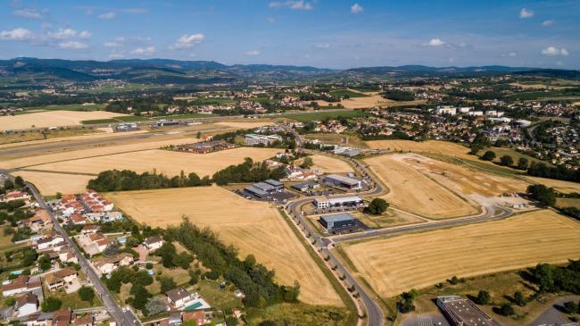 ZAC de Mâcon - Prises de vues aériennes par drone de zones d'activités à Mâcon